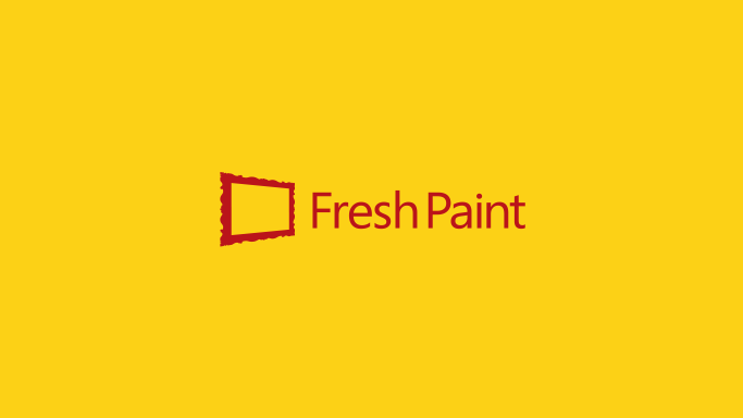 Fresh Paint の起動画面