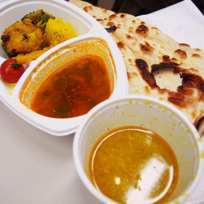 インド料理「るびな」の弁当