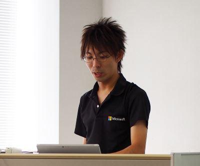 司会の鈴木 孝明 さん